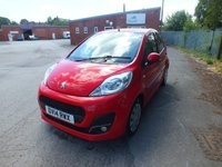 USED 2014 14 PEUGEOT 107 1.0 ACTIVE 5d 68 BHP