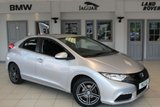 "USED 2013 13 HONDA CIVIC 1.8 I-VTEC TI 5d 140 BHP FULL CLOTH SEATS  + FULL SERVICE HISTORY +BLUETOOTH + AIR CONDITIONING + ELECTRIC WINDOWS + 17"" ALLOYS"
