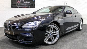 2012 BMW 6 SERIES 3.0 640D M SPORT 2d AUTO 309 BHP £18955.00