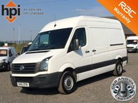 2011 VOLKSWAGEN CRAFTER 2.0 CR35 TDI MWB HIGH ROOF £6790.00