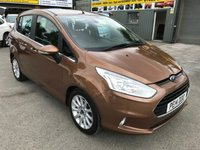 USED 2014 14 FORD B-MAX 1.6 TITANIUM 5 DOOR AUTOMATIC 104 BHP IN METALLIC BRONZE WITH ONLY 21000 MILES APPROVED CARS ARE PLEASED TO OFFER THIS  FORD B-MAX 1.6 TITANIUM 5 DOOR AUTOMATIC 104 BHP IN METALLIC BRONZE WITH ONLY 21000 MILES WITH A FULL SERVICE HISTORY (SERVICE BOOK AND BILLS)WITH A GREAT SPEC INCLUDING ABS,AIR CON,ALLOY WHEELS,BLUETOOTH,CD,CRUISE CONTROL,POWER STEERING,REAR PARKING SENSORS AND 2 KEYS A GREAT LITTLE MPV AUTOMATIC WITH SUPER LOW MILEAGE.