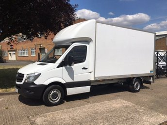 2017 MERCEDES-BENZ SPRINTER 2.1 314CDI LWB LUTON TAIL LIFT 140BHP. 2 YEAR'S MERCEDES WARRANTY £17650.00