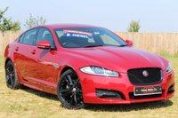 2015 JAGUAR XF 2.2 D R-SPORT BLACK 4d AUTO 200 BHP £19995.00