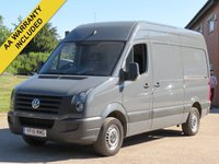 USED 2015 15 VOLKSWAGEN CRAFTER 2.0 CR35 TDI H/R P/V 1d 107 BHP CRUISE CONTROL + PLY LINED