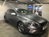 USED 2014 14 VOLVO V40 1.6 D2 R-DESIGN LUX 5d AUTO 113 BHP Only £20 a year road tax : Bluetooth   :   DAB Radio   :   R-Design steering wheel and contrasting leather upholstery  : Rear parking sensors   :   Fully stamped Volvo main dealer service history