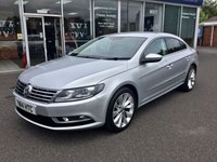 USED 2014 14 VOLKSWAGEN CC 2.0 GT TDI BLUEMOTION TECHNOLOGY DSG 4DR AUTO 138 BHP