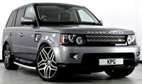 """USED 2011 61 LAND ROVER RANGE ROVER SPORT 3.0 SD V6 HSE 4X4 5dr Auto [8] Digital TV, 22""""s, Privacy ++"""