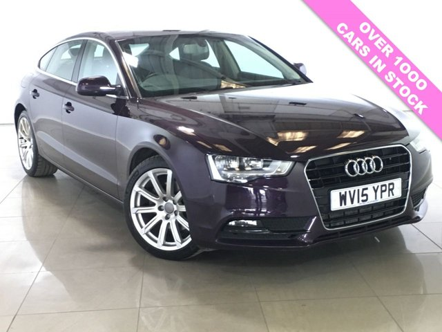View our 2015 15 AUDI A5 2.0 SPORTBACK TDI SE TECHNIK 5d 174 BHP
