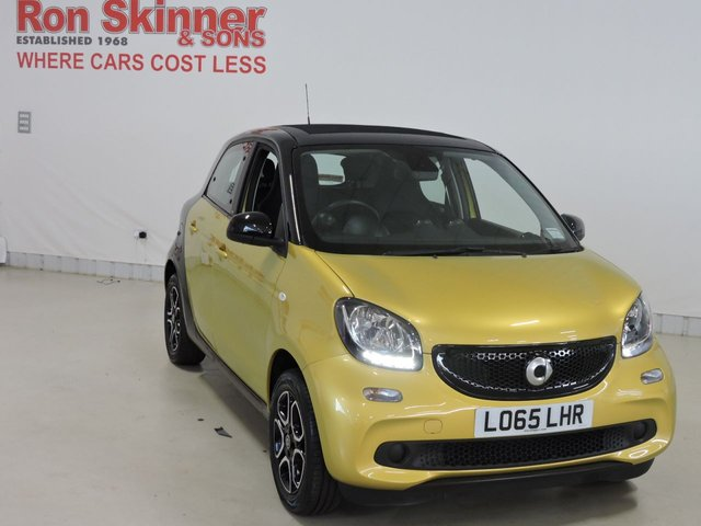 View our 2015 65 SMART FORFOUR 1.0 NIGHT SKY PRIME PREMIUM 5d 71 BHP