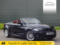USED 2012 62 BMW 1 SERIES 2.0 120I M SPORT 2d 168 BHP VERY LOW MILEAGE, RED LEATHER