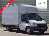 USED 2011 11 FORD TRANSIT 2.4 350 E/F DRW LUTON 1d 115 BHP LUTON, TAIL LIFT, BOX VAN