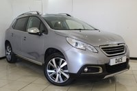 USED 2016 16 PEUGEOT 2008 1.6 BLUE HDI S/S FELINE MISTRAL 5DR 120 BHP HEATED LEATHER SEATS + SAT NAVIGATION + PANORAMIC ROOF + PARKING SENSOR + CRUISE CONTROL + BLUETOOTH + MULTI FUNCTION WHEEL + CLIMATE CONTROL + 17 INCH ALLOY WHEELS
