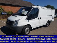 2011 FORD TRANSIT 300s SWB DIRECT FROM BT FLEET WITH FULL HISTORY £5795.00