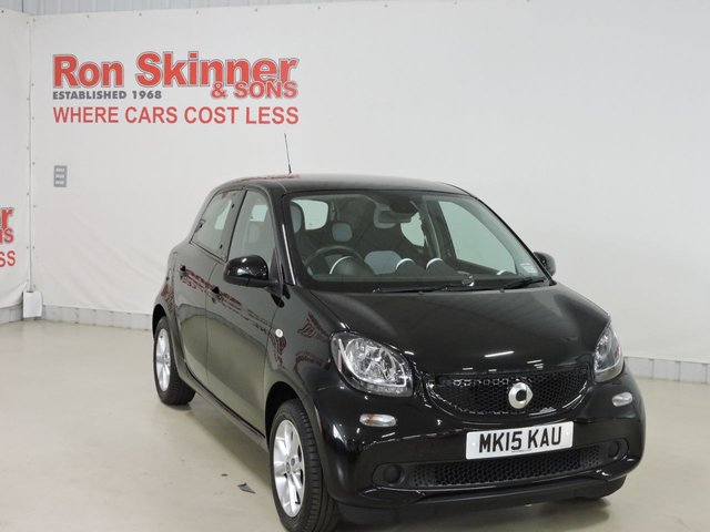 View our 2015 15 SMART FORFOUR 1.0 PASSION 5d 71 BHP