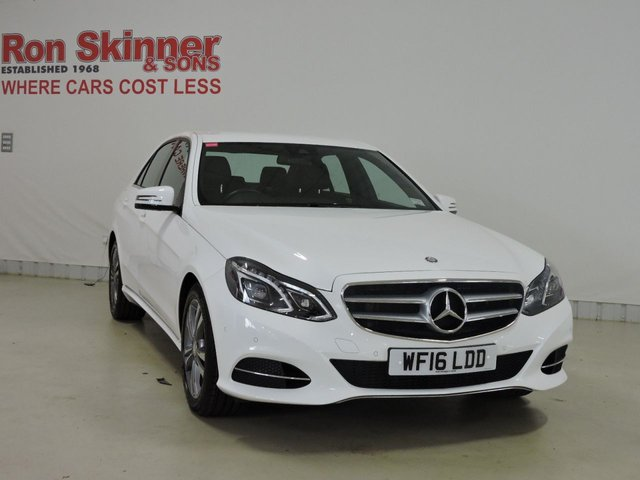 View our 2016 16 MERCEDES-BENZ E-CLASS 2.1 E220 BLUETEC SE 4d AUTO 174 BHP
