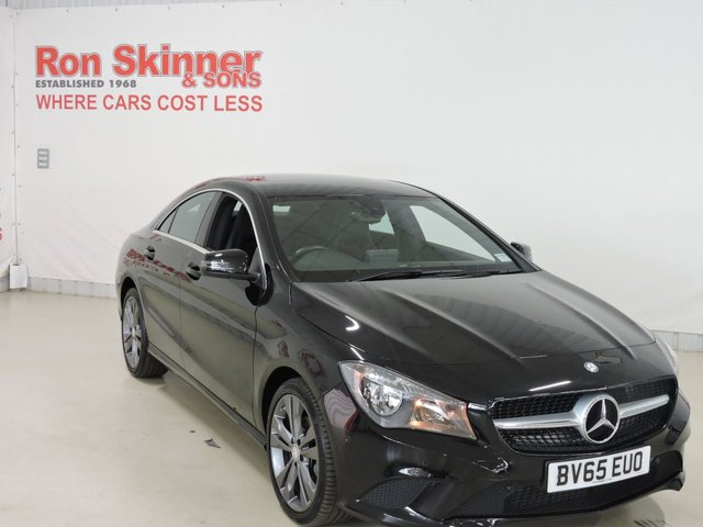 View our 2015 65 MERCEDES-BENZ CLA 2.1 CLA200 CDI SPORT 4d 136 BHP