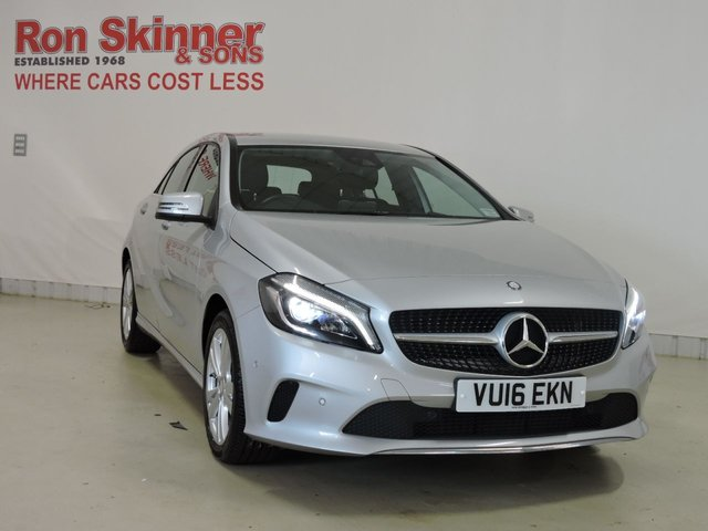 View our 2016 16 MERCEDES-BENZ A-CLASS 1.5 A 180 D SPORT PREMIUM 5d AUTO 107 BHP