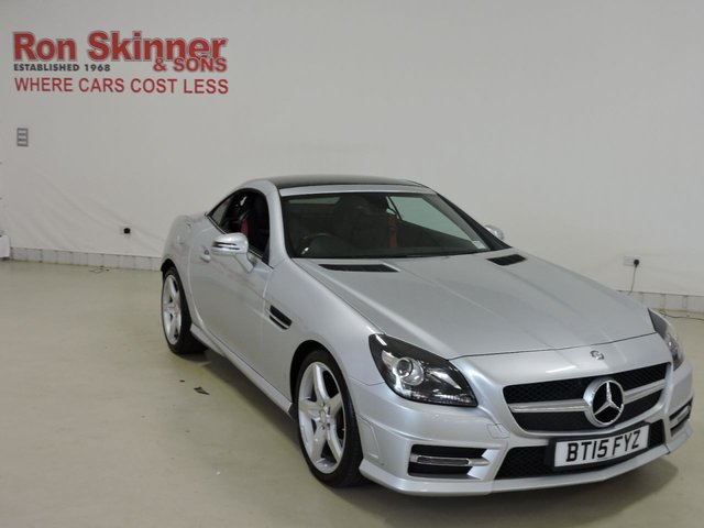View our 2015 15 MERCEDES-BENZ SLK (25)   2.1 SLK250 CDI BLUEEFFICIENCY AMG SPORT 2d AUTO 204 BHP