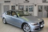 """USED 2009 58 BMW 3 SERIES 2.0 318I SE 4d AUTO 141 BHP FULL BEIGE LEATHER SEATS + SERVICE HISTORY + BLUETOOTH + CRUISE CONTROL + AIR CONDITIONING + 17"""" ALLOYS"""