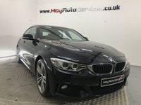 2015 BMW 4 SERIES 2.0 420D M SPORT GRAN COUPE 4d AUTO 188 BHP £18495.00