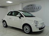 2012 FIAT 500 1.2 LOUNGE 3d 69 BHP £4795.00