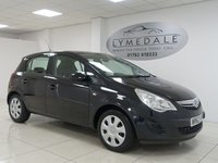 USED 2012 62 VAUXHALL CORSA 1.2 EXCLUSIV AC 5d 83 BHP FULL SERVICE HISTORY, MOT 26.6.19, EXCELLENT CONDITION