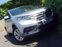 2013 HONDA CR-V 2.0 I-VTEC S 5d 153 BHP £9999.00