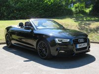 USED 2015 15 AUDI A5 2.0 TDI S LINE SPECIAL EDITION PLUS 2d 175 BHP FROM £67 A WEEK & NO DEPOSIT!