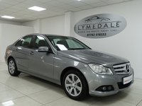 USED 2011 61 MERCEDES-BENZ C CLASS 2.1 C220 CDI BLUEEFFICIENCY SE EDITION 125 4d 170 BHP £30 ROAD TAX, FULL MERCEDES HISTORY, COMAND  & SAT NAV