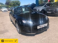 USED 2014 64 MAZDA MX-5 1.8 I SE 2d 125 BHP NEED FINANCE? WE CAN HELP! LOVELY CONVERTIBLE FOR THE SUMMER!