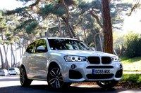 2015 BMW X3 2.0 XDRIVE20D M SPORT 5d 190 BHP £21950.00