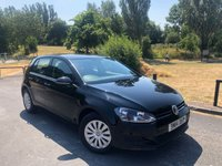 2014 VOLKSWAGEN GOLF 1.6 S TDI BLUEMOTION TECHNOLOGY 5d 103 BHP £7450.00