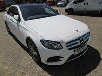 2017 MERCEDES-BENZ E CLASS 2.0 E 220 D AMG LINE PREMIUM 4d AUTOMATIC  192 BHP £29650.00