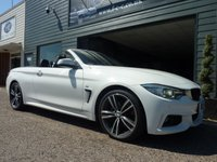 2015 BMW 4 SERIES 2.0 420D M SPORT 2d AUTO 188 BHP £SOLD