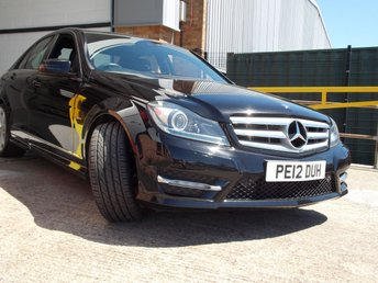 2012 MERCEDES-BENZ C CLASS 2.1 C250 CDI BLUEEFFICIENCY SPORT 4d AUTO 202 BHP £10800.00