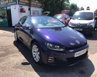 2016 VOLKSWAGEN SCIROCCO 1.4 TSI BLUEMOTION TECHNOLOGY 2d 123 BHP £12499.00