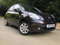 2011 NISSAN MICRA 1.2 ACENTA 5d AUTO 79 BHP £5490.00