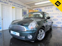 2007 MINI HATCH ONE 1.4 ONE 3d 94 BHP £4000.00