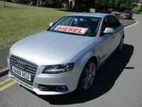 2009 AUDI A4 2.0 TDI SE 4d 143 BHP £SOLD