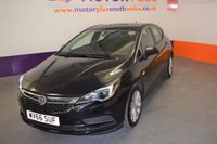 USED 2016 66 VAUXHALL ASTRA 1.4 TECH LINE 5d 123 BHP