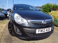 USED 2012 12 VAUXHALL CORSA 1.2 LIMITED EDITION 3d 83 BHP **Full Vauxhall History Family Owned 12 Months Mot**