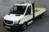 USED 2014 64 MERCEDES-BENZ SPRINTER 2.1 313 CDI 129 BHP LWB TWIN WHEEL DROPSIDE LORRY BED LENGTH 13 FOOT AND 6 INCH