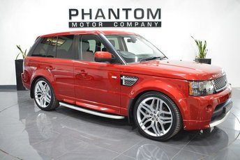 2012 LAND ROVER RANGE ROVER SPORT 3.0 SDV6 AUTOBIOGRAPHY SPORT 5d AUTO 255 BHP £24490.00