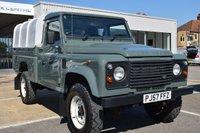 2007 LAND ROVER DEFENDER 2.4 110 DCB HI-CAP P/U 1d 121 BHP £13995.00