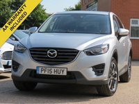 USED 2015 15 MAZDA CX-5 2.2 D SPORT NAV 5d 148 BHP NAVIGATION + FULL LEATHER + ELECTRIC FRONT SEATS