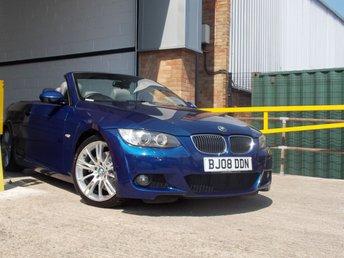 2008 BMW 3 SERIES 3.0 325D M SPORT 2d 195 BHP £7150.00