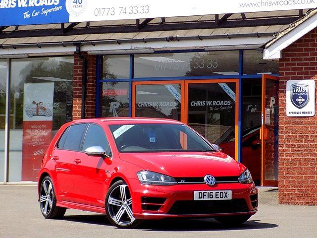 USED 2016 16 VOLKSWAGEN GOLF 2.0 R DSG 5dr AUTO (300) ** Stunning DSG with Low Miles **