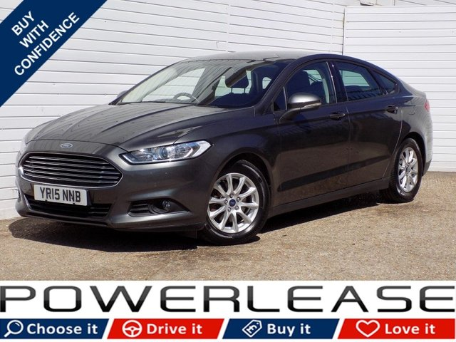 USED 2015 15 FORD MONDEO 1.6 STYLE ECONETIC TDCI 5d 114 BHP FREE ROAD TAX FULL HISTORY NAV