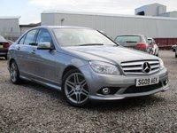2009 MERCEDES-BENZ C CLASS 2.1 C220 CDI SPORT 4d AUTO 168 BHP £7750.00