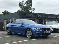 2016 BMW 4 SERIES 2.0 420D XDRIVE M SPORT 2d 188 BHP £18990.00